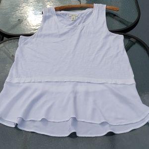 Style & Co White Cotton Shirt